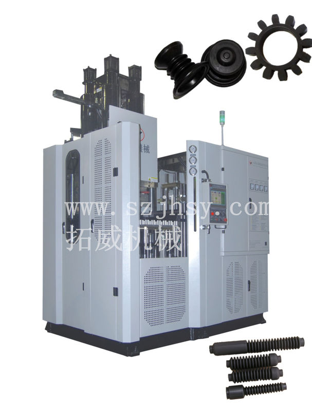 PLC Omron Power 58KW Rubber Injection Moulding Machine 400 Tons High Performance