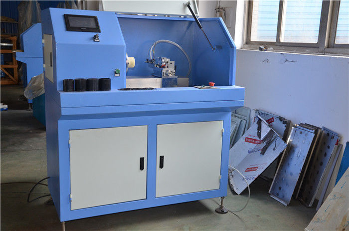 Automatic Rubber Injection Moulding Machine Gasket Cutting Machine Single Shaft Type
