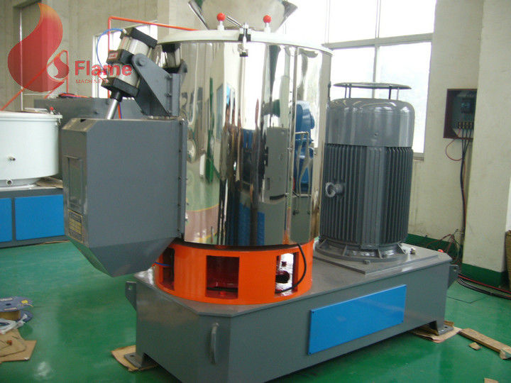 304 Stainless steel SHR Series High Speed Mixer For PVC Cable material 200 - 800L