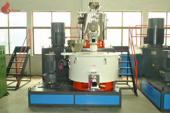 500L / 1000L High Speed Mixers , 900 Kg Hour Industrial Mixing Machines