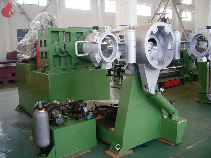 110KW Double Head Plastic Strainer Extruder 1500 - 2000 Kg / Hr
