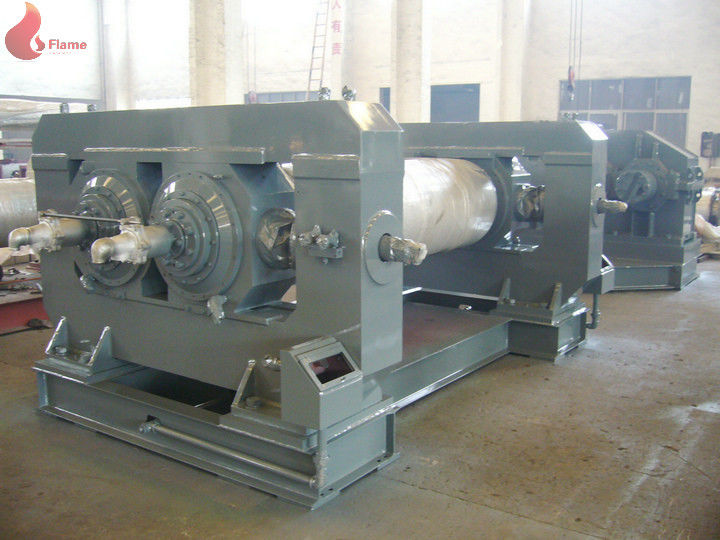 Φ610 x1830mm Two Roll Mixing Open Mill With Gear Coupling Transmission